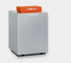 Газовый напольный котел Viessmann Vitogas 100-F 29-60 кВт с чугунным теплообменником
