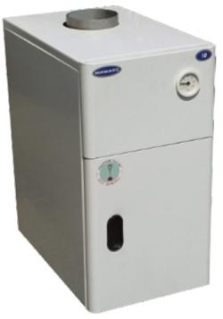 Газовый напольный котел Мимакс КСГВ с отечественной автоматикой АГУ-Т-М (двухконтурный)