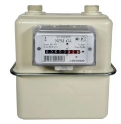 Счётчик газа NPM-G 4 (М 30х2) правый 2021г.
