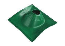 Уплотнительная манжета кровельная угловая  №2 (203-280) СИЛИКОН зеленая, окрашен