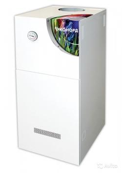 Газовый напольный котел Конорд КСц-Г с автоматикой Sit (одноконтурный)