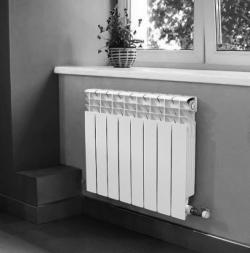 Алюминиевый радиатор Samrise RA-01 500