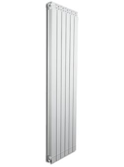 Дизайнерские алюминиевые радиаторы Fondital GARDA DUAL80 ALETERNUM  1600
