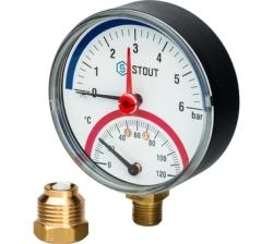 Термоманометр STOUT