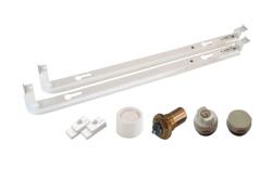 Монтажный комплект для нижнего подключения радиаторов Viessmann высота 300